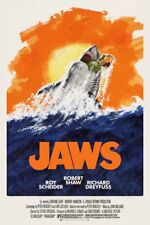 2017 NYCC Bottleneck BNG Variety Homage JAWS 1975 PRINT Poster 325 made Mondo
