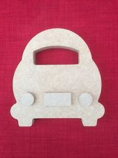 Free standing Car wooden MDF craft shape 18mm thick