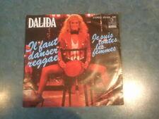 DALIDA  7 inch Single IL FAUT DANSER REGGAE  (1980)    °19