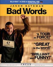 Bad Words (Blu-ray/DVD, 2014, 2-Disc Set)
