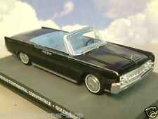 DIECAST 1/43 JAMES BOND 007 LINCOLN CONTINENTAL CONVERTIBLE IN BLACK GOLDFINGER