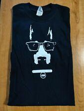 Black and White Dobe wearing sunglasses,T-Shirt