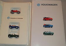 Volkswagen Competency in Cabriolets Advertising Package 3tlg Promo Wiking 1:87