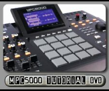 Akai MPC5000 Instructional DVD Tutorial