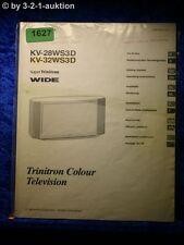 Sony Bedienungsanleitung KV 28WS3D / 32WS3D ColorTV (#1627)
