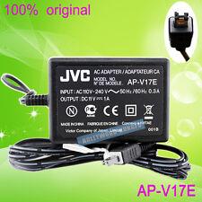 ORIGINALE PER JVC AP-V17E AP-V18E AP-V19E AP-V20E Adattatore Caricabatterie AC