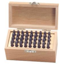 knkut kp856610 36 Pieza letras y Números Juego de punzones - 0.4cm
