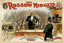 Repro Circus Print for 'Roscows Midgets' #1