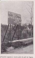 1924  --  PROPRIETE ENGLAISE A VENDRE PRES DU GOLF DE CAGNES  3B957
