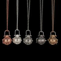 Harmony Chime Ball Musical Sound Locket Angel Caller Pendant Long Necklace