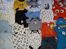 **AMAZING**38x NEW BUNDLE OUTFITS TIGER MICKEY NEMO BABY BOY 0/3 MTHS(3)NRT