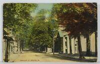 Bristol Pa Radcliff Street Inez Buckley St 1912  to Portland Maine Postcard N5