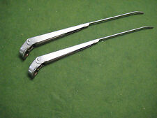 Original 1966 1967 1968 1969 1970 Mustang Stainless Wiper Arms Pair - OEM