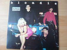 BLONDIE PLASTIC LETTERS 1978   ALBUM 33T DISQUE VINYL