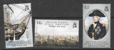 British INDIAN OCEAN TERR SG344/6 2005 battaglia di Trafalgar Gomma integra, non linguellato
