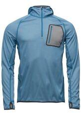 J. Lindeberg M Running Hoodie Elements Jer. Sports Tops Electric Blue Melange S