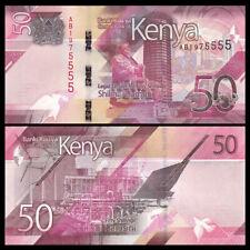 Kenya 50 Shillings, 2019, P-NEW, UNC