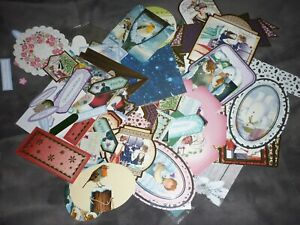 A HUGE AMOUNT LOOSE XMAS DIE-CUTS MOSTLY HUNKYDORY & KANBAN CRAFT CLEAROUT