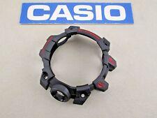 Genuine Casio G-Shock Mudmaster GWG-1000GB-4 red letters black resin watch bezel