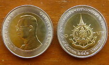 10 Baht Bimetall 72. Geburtstag König Bhumibol 1999 Nr. 9