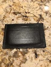 Gucci Men's Black Leather Wallet Slots EUC