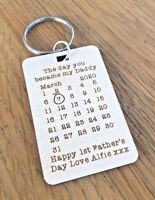 Personalised First 1st Fathers Day Gifts For Him Daddy Dad Papa Grandad Gifts