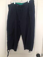 Tek Sport Element Series Women's Active Capri Pants Sz L Bottoms Blue Clothes