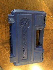 Smith & Wesson Model 686 Cases S&W Factory Original Blue Plastic Box's Pair