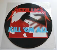 Metallica - Kill 'Em All UK 1986 Music For Nations 1st Press Picture Disc LP