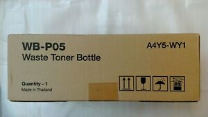 New Genuine Konica Minolta A4Y5-WY1 WB-P05 Waist Toner Bottle