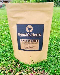 Chicken & Poultry Nest Box Herbs, Coop Herbs, Hen & Poultry Health - 180g