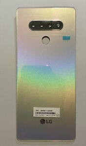 OEM METRO PCS LG STYLO 6 LM-Q730MM REPLACEMENT BACK COVER HOUSING DOOR LENS #112