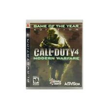 PS3 CALL OF DUTY 4 MODERN WARFARE GAME OF THE YEAR EDITION PLAYSTATION 3