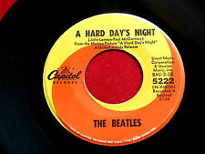BEATLES~A HARD DAY'S NIGHT~UNART & McCLEN AS PUBLISHERS~RARE~CAPITOL ~ POP 45
