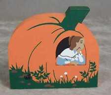 Cat's Meow Village Nursery Rhyme Peter Pumpkin Eater