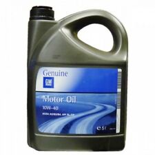VAUXHALL ASTRA 15 ON GENUINE GM 10W40 10 40 ENGINE MOTOR OIL 5L SEMI