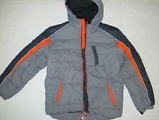 NWT Protection System Boys Performance Bubble Jacket  Color Granite Size 18/20