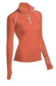 ColdPruf Zephyr Woman's Crew Top Warm Thermal Base Layer Polyester Waffle