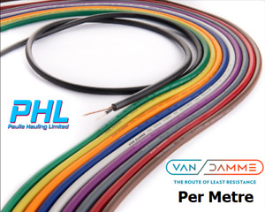Van Damme Pro Grade Classic XKE Instrument Cable Sold By The Metre / 10 Colours