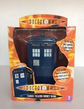 BBC DOCTOR WHO TARDIS TALKING MONEY BOX New Boxed Collectable