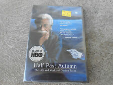 HALF PAST AUTUMN-THE LIFE AND WORKS OF GORDON PARKS-HBO-DVD-FACTORY SEALED-NEW