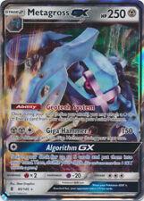 Pokemon SM2 Guardians Rising Metagross GX Ultra Rare Card 85/145