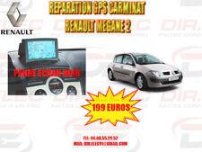 REPARATION GPS CARMINAT RENAULT MEGANE 2