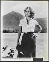Rita Hayworth Miss Sadie Thompson 1950s Original Promo Portrait Photo