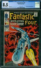 Fantastic Four 72 CGC 8.5 - OW/W Pages - No Reserve Auction