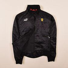 Puma Damen Jacke Jacket Gr.36 Scuderia Ferrari Bomberjacke Schwarz 78161