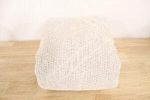 Hotel Collection Pebble Diamond Cotton FULL/QUEEN Duvet Cover BEIGE Bedding i966