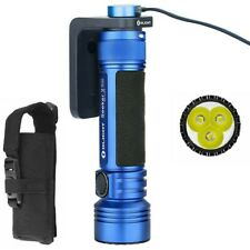 OLIGHT Seeker 2 Pro BLUE, 3200 Lumens 250 Meters Limited Edition LED Flashlight