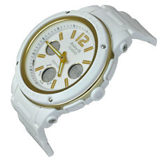 Casio Baby-G Womens Wrist Watch BGA151-7B  BGA-151-7B White Gold Analog-Digital