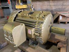 75 Hp Baldor Ac Electric Motor 1200 Rpm Fr 405t Tefcbb 230460 V New